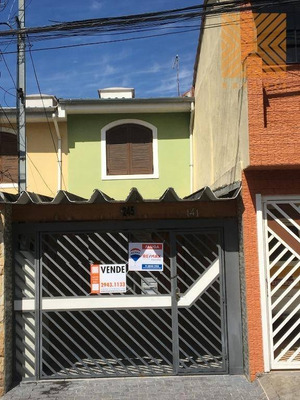 Sobrado A Venda No Jardim Penha - Na Rua Jacina - Financiamento. Com 2 Quartos- Sala Ampla - Uma Vaga De Garagem E Quintal Nos Fundos - São Paulo/sp - So1469