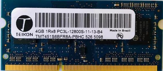 Memoria Ram Notebook 4gb Ddr3 12800 Pc3l