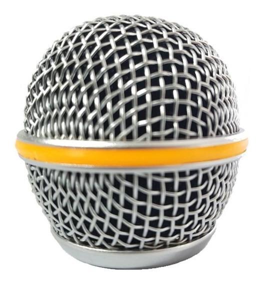 Kit 3 Globos De Microfone Shure, Beta58, Sm58, Lyco, Etc...