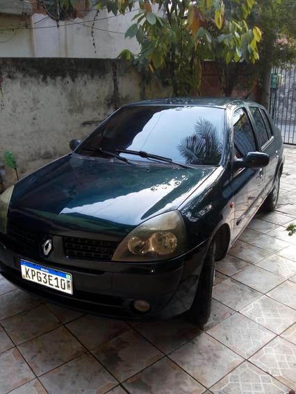 Renault Clio 2005 1.0 16v, Ar, Direção, Vidro, Airbag, Som.