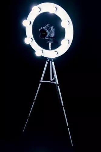 Ring Light + Sup-celular + Tripe + Bolsa Exclusivo