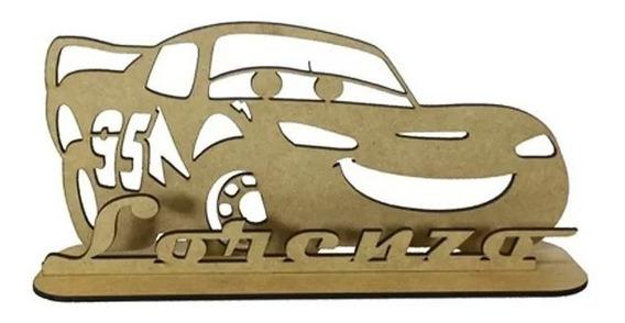 8 Centros De Mesa Cars Rayo Mcquenn Personalizados