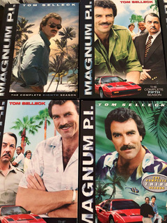 Dvd Coleccion Completa Serie Magnum Pi Con Tom Selleck