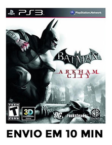 Batman Arkham City Ps3 Psn Envio Agora