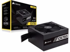 Fonte Corsair Cx750 750w Real 80plus Bronze Para Pc Gamer