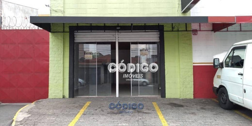 Imagem 1 de 7 de Salão Para Alugar, 60 M² Por R$ 2.500,00 - Vila Galvão - Guarulhos/sp - Sl0010