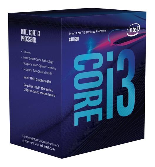 Caixa Box Intel I3 8100 Vazia + Selo Pra Colar - 8th Geracao