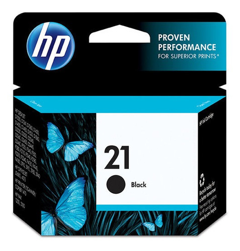 Cartucho De Tinta Original Hp 21