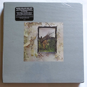 Box Led Zeppelin Iv Super Deluxe Edition 2 Lps + 2 Cds Novo