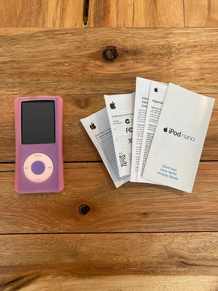 iPod Nano 8gb Roxo A1285 - Apple