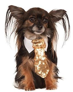 Compañía De Disfraces Rubies Oro Corbata De Le
