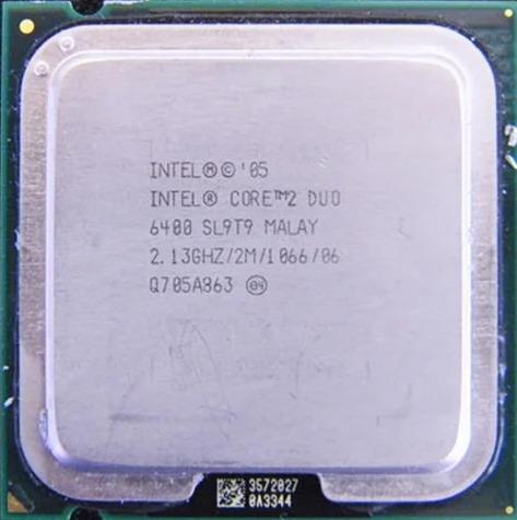 Imagem 1 de 1 de Processador Intel Core 2 Duo E6400 2.1ghz Dual-core Cpu 2 M