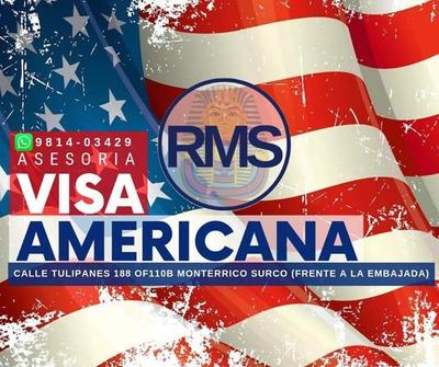 Asesoría Trámites De Visa Americana