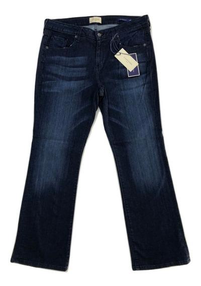 Hw Jeans Dama Talla Extra 16 18 20 22 24 26 Strecht Bootcut