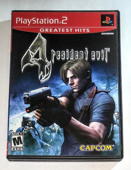 Resident Evil 4 Original Completo Ps2 Cr $15