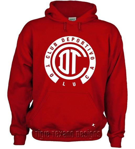 Sudadera Fútbol Diablos Rojos Toluca M1 Tigre Texano Designs