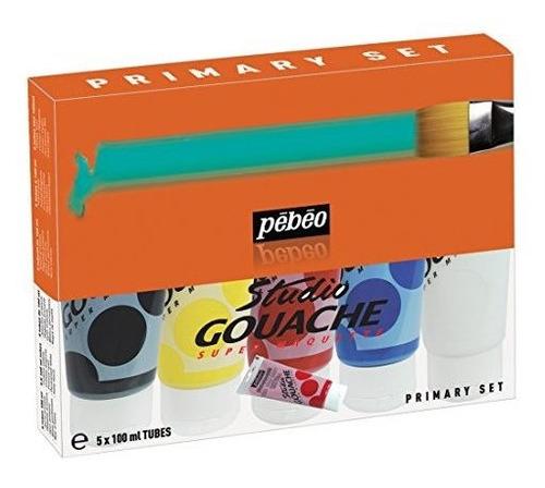 Imagen 1 de 1 de Studio Pintura Gouache Surtido 100milliliter Tubos 5 Unidade