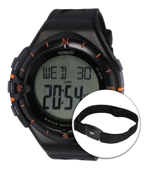 Relógio Speedo 58010g0 Monitor Cardíaco Alarme E Cronômetro
