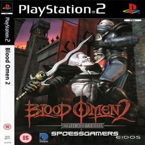 Legacy Of Kain Blood Omen 2 Ps2 Desbloqueado Patch