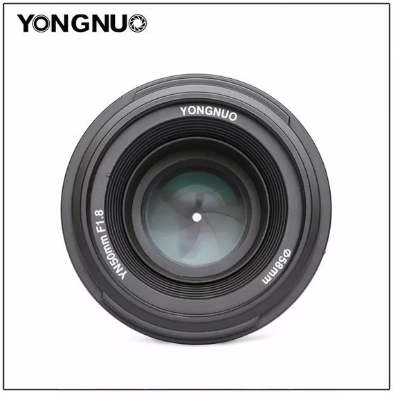 Lente 50mm Para Nikon