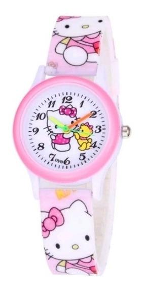Relogio Feminino Hello Kitty Presente Especial