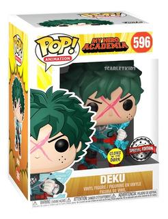 Funko Pop My Hero Academia Deku 596 Special Edition Brilla