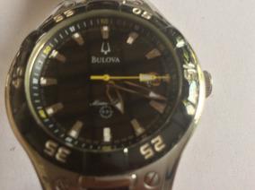 Luxuoso Relógio Bulova Marine Star, 40 Mm. De Caixa, Quartz