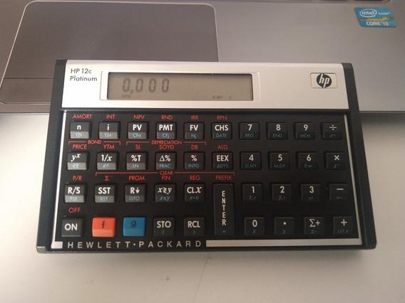 Calculadora Hp 12c Platinum(original)