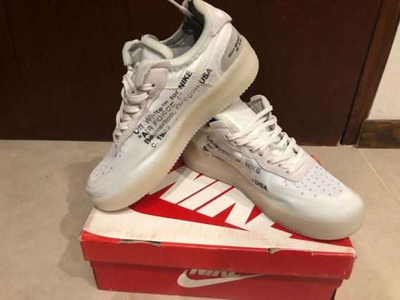 Zapatillas Nike Air Forcé Off White Edición Limitada Únicas!