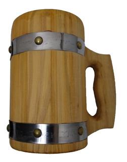 Caneca Medieval De Madeira - Vikings - Cerveja - Hidromel