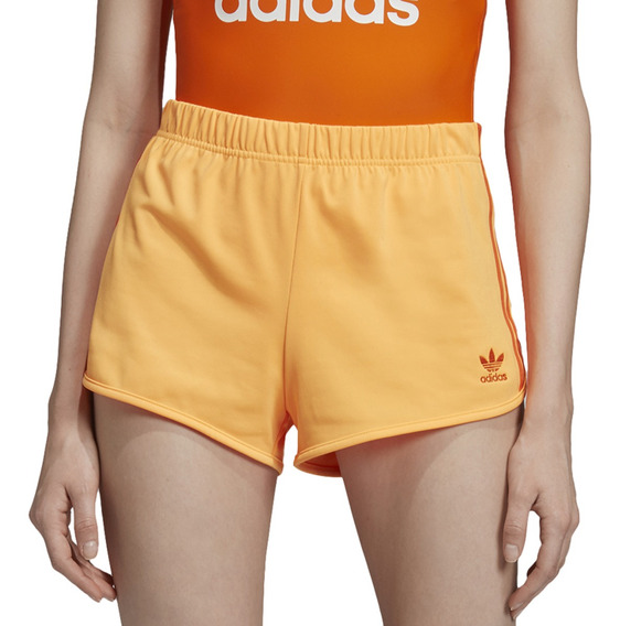 Short adidas Originals Moda 3 Str Mujer Na/ld