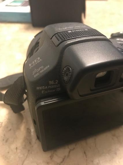 Camera Sony Cyber Shot Dsc-hx100v(canon Nikon) Imperdivel
