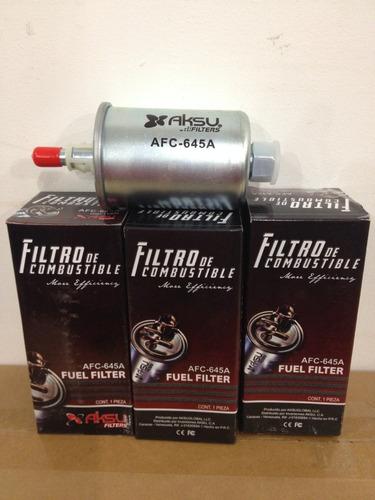 Filtro De Gasolina Afc-645a Blazer 4.3 Silverado 5.3