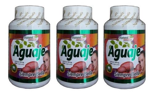 Aguaje Peruano Original 100% Para Gluteos Senos Piel Promo 3
