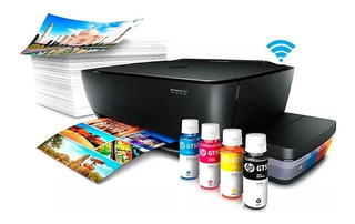 Impresora Multifuncion Hp Color Sistema Continuo Wifi Ramos