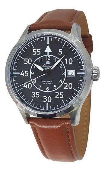 Aeromatic 1912 - A1434. Relógio Alemão Tipo Flieger
