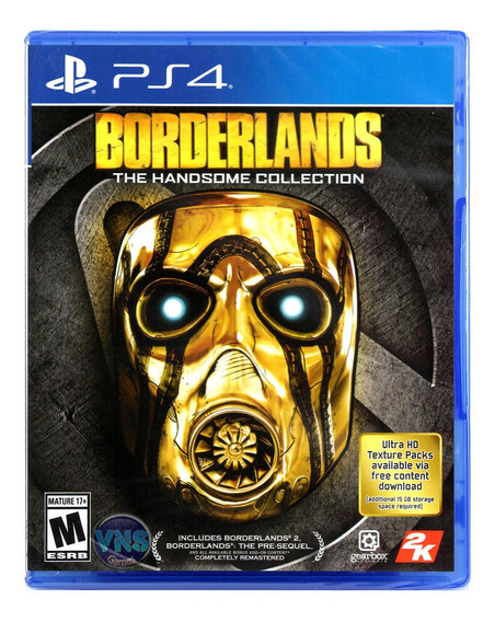 Borderlands The Handsome Collection - Ps4 - Mídia Física