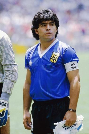 Camiseta Maradona Contra Los Ingleses 1986 Original Lecop 10