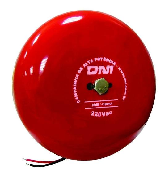 Campainha Tipo Gongo De Alta Potência - 220v - Dni6350