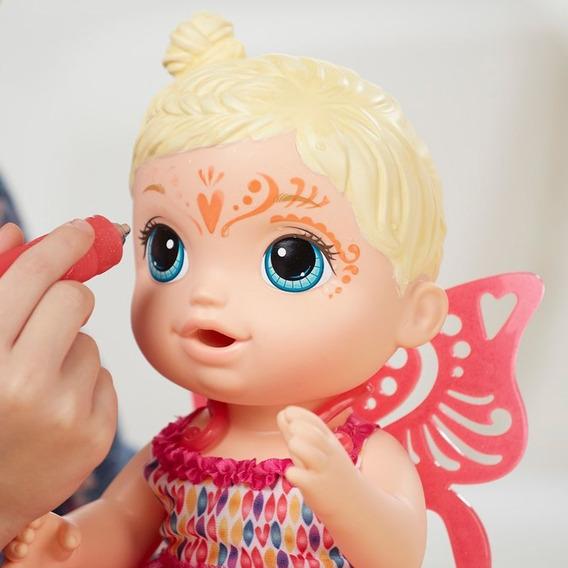 Baby Alive Hora Da Festa Loira Hasbro - Crianças 3 A 8 Anos