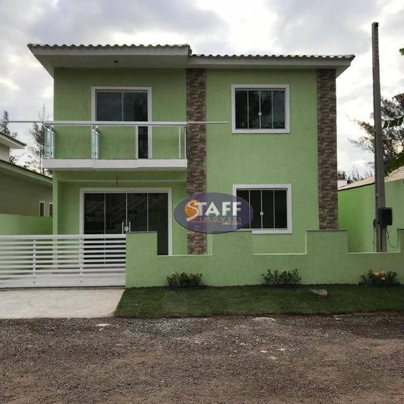 Linda Casa 3 Quartos Sendo 2 Suítes A Venda Em Unamar-cabo Frio!! - Ca1356