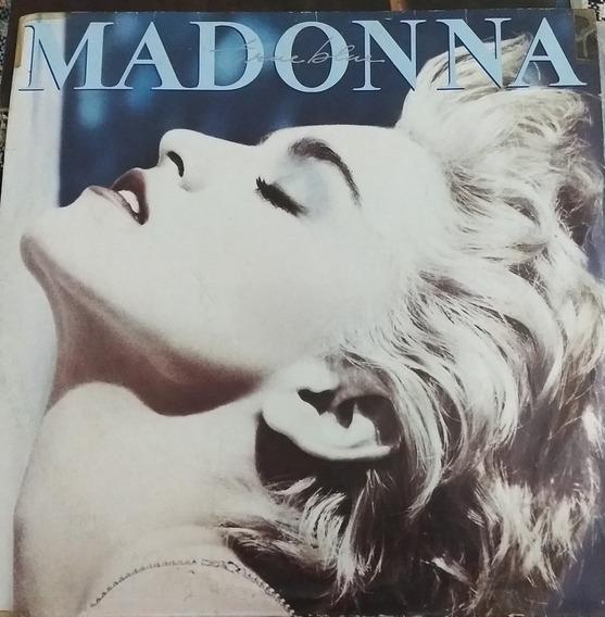 Lp Madonna True Blue