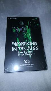 Audifonos Gamer Plextone G20 Hammerring In The Bass