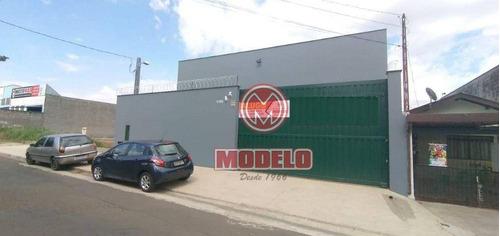 Barracão Para Alugar, 300 M² Por R$ 4.500/mês - Jardim Algodoal - Piracicaba/sp - Ba0331
