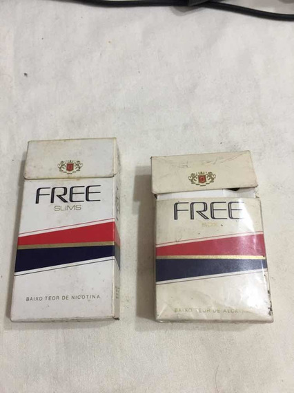Marquillas X 2 Free Brasilero(vacías)