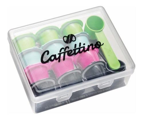 Capsulas Recargables Cafe Nespresso X12 Marca Caffettino