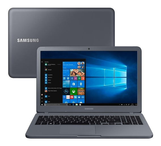 Notebook Samsung Core I5 4gb 1tb Tela Full Hd 15.6 Titanium