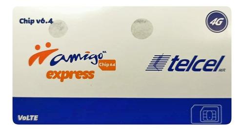 Amigo Chip Express Telcel V6.4 4g Pack 10chips Lada 442 Qro