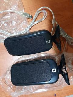 Parlantes Commodore Pc Cable Usb Nuevos