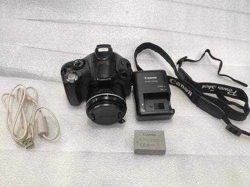Câmera Digital Canon Pc1680 Não Liga